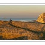 Le cap Blanc-Nez et la promenade vers la baie de Wissant en fin de journée.