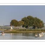 Retour au port des bateaux à Saint-Valery.