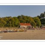 La buvette de la plage au Cap Hornu à Saint-Valery.