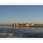 Le Crotoy (Baie de Somme) vu depuis le bassin de chasse