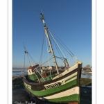 Le petit cimetière à bateaux du Crotoy