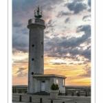 Le phare du hourdel au petit matin