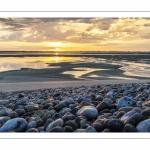 Lever de soleil sur la baie au Hourdel