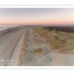 Les dunes du Marquenterre entre la baie d'Authie et la Baie de Somme