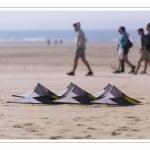 Les préparatifs du Festival des cerfs-volants à Berck-sur-mer