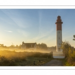 Le phare de Brighton (Cayeux-sur-mer) dans la lumière du matin
