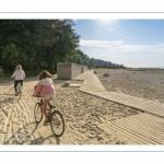 Vacanciers au cap Hornu près de Saint-Valery-sur-Somme -