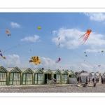 Festival des cerfs-volants à Cayeux-sur-mer sur le chemin des planches.