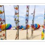 France, Pas-de-Calais (62), Côte d'Opale, Berck-sur-mer, Rencontres Internationales de Cerfs-Volantsde Berck-sur-mer, pendant 9 jours la ville accuille 500 cerfvolistes du monde entier pour l'une des plus importantes manifestations de cerfs-volants au monde  // France, Pas-de-Calais (62), Opale Coast, Berck-sur-mer, Berck-sur-Mer International Kite Meetings, during 9 days the city welcomes 500 kites from all over the world for one of the most important kite events in the world