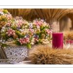Bouquet sec - fleurs séchées - Journées des Plantes de Chantilly