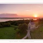 Saison : été - Lieu : Cap Hornu, Saint-Valery-sur-Somme, Baie de Somme, Somme, Hauts-de-France, France. Panorama par assemblage d'images 6233 x 2907 px