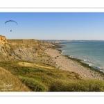 La côte en direction d'Audresselles vue depuis le Cran-aux-Oeufs