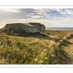Le sentier des Crans, La côte en direction du cap Gris-Nez