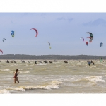 Affluence de Kitesurf au Crotoy