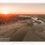 Saison : été - Lieu : Le Crotoy, Baie de Somme, Somme, Hauts-de-France, France.