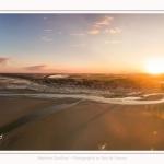 Saison : été - Lieu : Le Crotoy, Baie de Somme, Somme, Hauts-de-France, France. Panorama par assemblage d'images 6841 x 3421 px