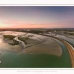 Saison : été - Lieu : Le Crotoy, Baie de Somme, Somme, Hauts-de-France, France. Panoramique par assemblage d'images 6667 x3333 px