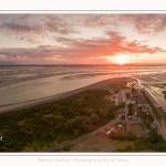 Saison : été - Lieu : Le Hourdel, Baie de Somme, Somme, Hauts-de-France, France. Panorama par assemblage d'images 6738 x 3369 px
