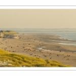 Quend-Plage vue depuis les dunes de Fort-Mahon