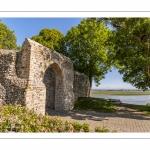 Les hauteurs de Saint-Valery au niveau de la porte Guillaume