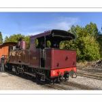 Le petit train de la baie de Somme en gare du Crotoy