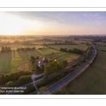 Survol du fond de la Baie de Somme. Route Panoramique