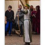 Foire de la Saint-Louis et fête médiévale à Crécy en Ponthieu - Saison : été - Lieu : Crécy-en-Ponthieu, Somme, Picardie, France.