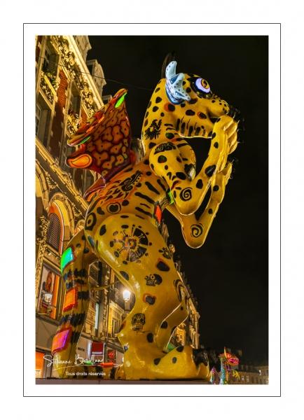 Exposition de sculptures mexicaines dans les rues de Lille