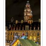 Lille, illuminations et marché  de Noël