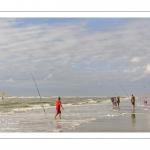 Vacanciers sur la plage