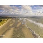 Les chars-à-voile sur la plage de Quend
