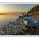 Les barques sur les quais de Saint-Valery