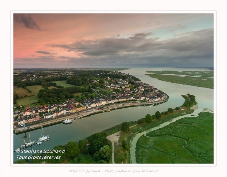 Saison : été - Lieu : Saint-Valery-sur-Somme, Baie de Somme, Somme, Hauts-de-France, France.