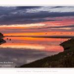 Saison : été - Lieu : Saint-Valery-sur-Somme, Baie de Somme, Somme, Hauts-de-France, France. - Panorama par assemblage d'images 6864 x 3432 px