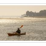 Kayak sur le chenal de la Somme
