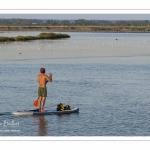Paddle à l'entrée du port de Saint-Valery