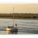 voilier de retour au port