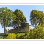 La porte guillaume sur les hauteurs de la vieille ville médiévale