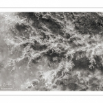Gros plan sur la glace en Baie de Somme