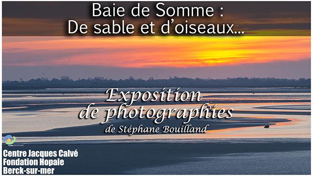 Coucher de soleil sur la Baie de Somme à marée basse.