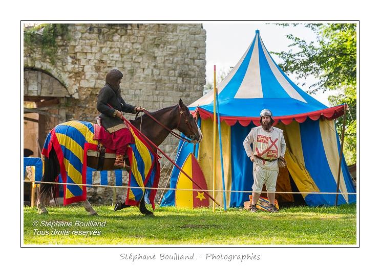 Animations médiévales au château d'Eaucourt-sur-Somme