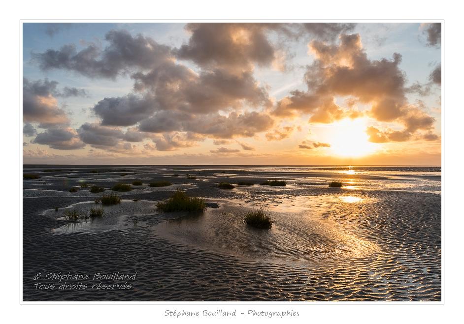 Crépuscule en Baie de Somme