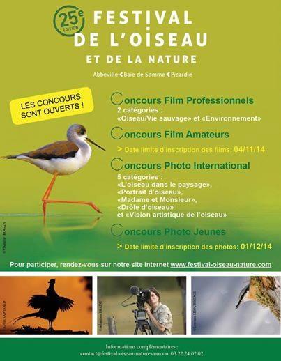 Concours-photo du Festival de l'oiseau – 1er Dec 2014