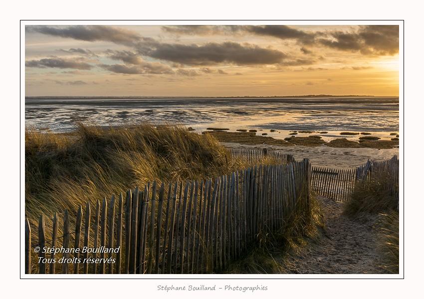 La plage du Crotoy, Baie de Somme