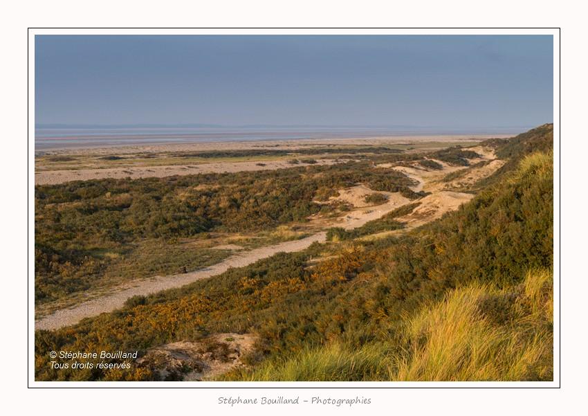La mollière d'Aval : Automne en Baie de Somme