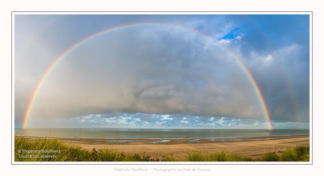 Arc-en-ciel à Berck-sur-mer