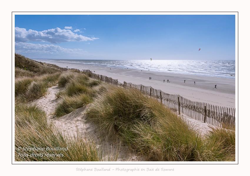 Promenade dans les dunes à Quend-Plage