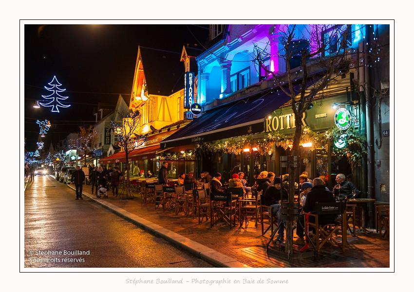 Les illuminations de Noël au Touquet (Côte d'Opale)