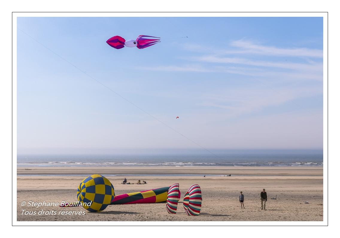 Berck-sur-mer se prépare pour le Festival des Cerfs-Volants