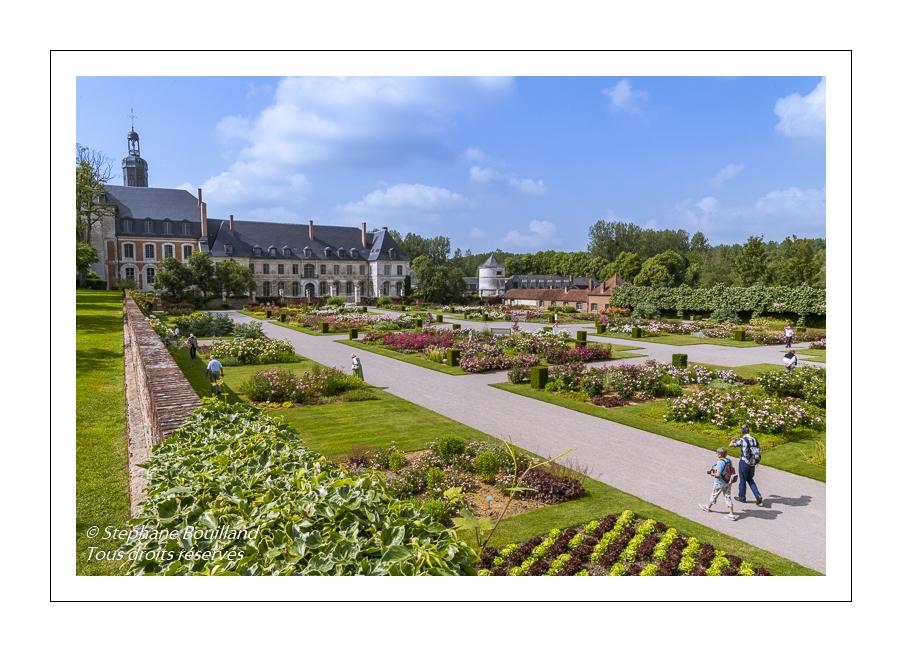 Promenade aux jardins de Valloires